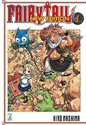 FAIRY TAIL NEW EDITION 1-2-3-4-5-6-7-8-9-10-11-12 sequenza completa star comics