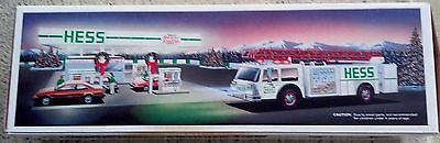 1989 Hess Toy Fire Truck. RARE!  New in Box. NEVER OPENED