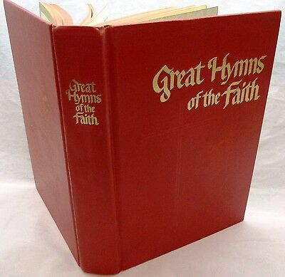 Great Hymns of Faith-Vintage 1968 Piano Songbook by Singspiration