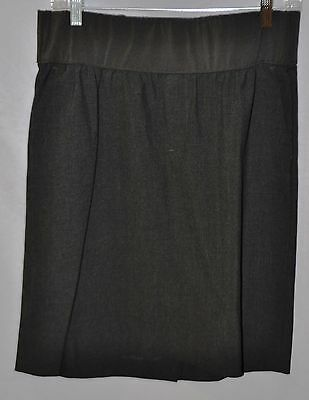 Gently used GAP MATERNITY gray  pencil SKIRT size 10