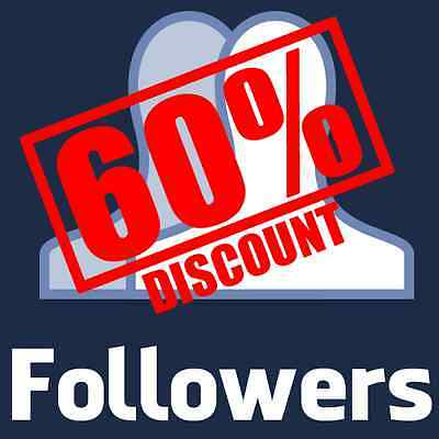 Buy 1000 Facebook Follower for ProfiIe - SUPER FAST - CHEAPEST EBAY - 100% SAFE