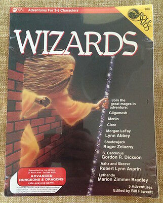 """Role Aids #708 """"wizards"""" For Dungeons & Dragons New"""