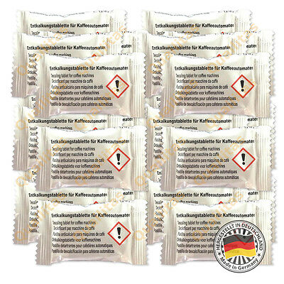 24 Descaling Tablets Descaler for Bosch Tassimo Coffee Machines