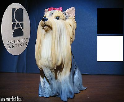 New Yorkshire Terrier dog Figurine CA06253 Country Artists tea cup