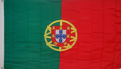 New Big 2X3 Ft Portugal Portugese Banner Flag