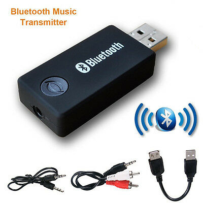 3.5mm Portable Stereo Audio Wireless Bluetooth Transmitter for TV/iPod/MP3/MP4