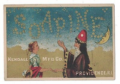 Soapine Trade Card Wizard  Charlotte Perkins Gilman Kendall French Laundry