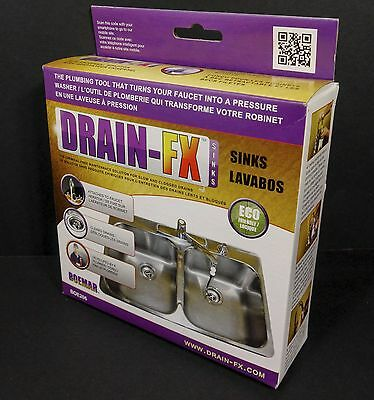 Drain-FX Chemical Free Drain Cleaning System for Sinks