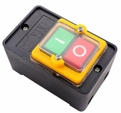 New 10A 380V ON/OFF WaterProof Push Button Switch KAO-5 / BSP210F-1B Hot sales