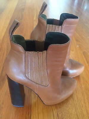 Alexander Wang Leather Boots 39 9 9.5
