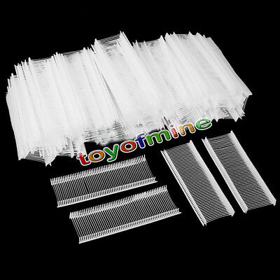 5000Pcs 25mm Barbs Fastener Pin for Standard Label Price Tagging Tag Gun Plastic