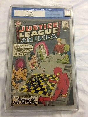 Justice League #1 Cgc 6.5 Old Label 1960 Hot Key Movie.classic Cover