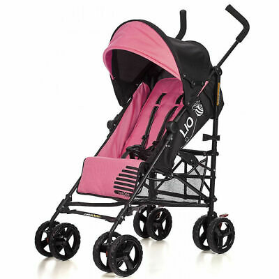 Vee Bee Lio Stroller/Pram for Baby/Infant/Toddler Recline/Foldable/Lock Pink