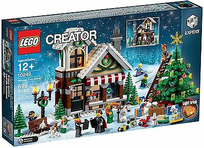 LEGO 10249 WINTER TOY SHOP Hard To Find