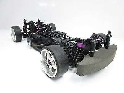 HPI 1/10 Sprint 2 4WD Belt Driven On Road Drifting Rolling Chassis Car OZ RC