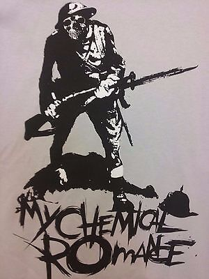 MY CHEMICAL ROMANCE MCR Rock Trail Blazer Soldier Shirt NEW concert tour Youth L