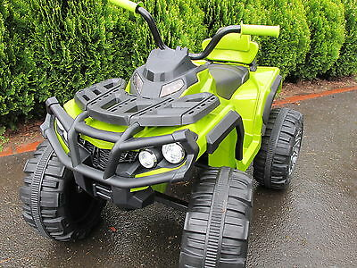 NEW KIDS 12volt Electric Ride-On ATV Bike - AWESOME GREEN