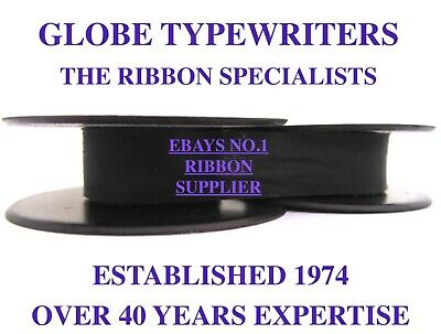 1 x 'UNDERWOOD 3' *PURPLE* TOP QUALITY *10M* TYPEWRITER RIBBON TWIN SPOOL *R/W*
