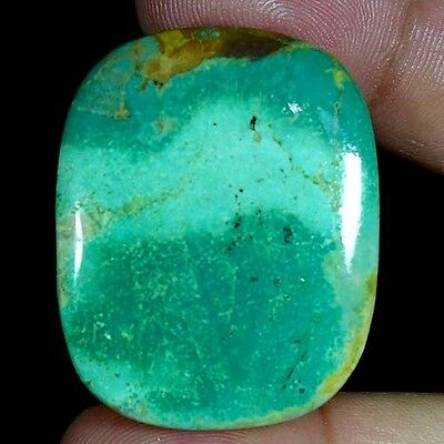 79.00Cts. 100% NATURAL UNTREATED TIBET TURQUOISE CUSHION CABOCHON TOP GEMSTONES