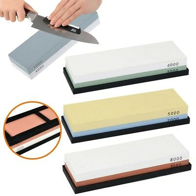 Grit Knife Sharpening Sharpeners Water Stone Dual Whetstone 3000/8000 1000/4000