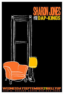 Scrojo Sharon Jones and the Dap-Kings Belly Up Aspen CO 2005 Poster Jones_0509