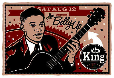 Scrojo B.B. King Belly Up Aspen Colorado 2006 Poster King_0608