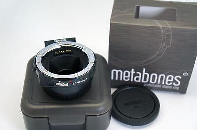 Metabones IV Canon EF to Sony E Mount adapter