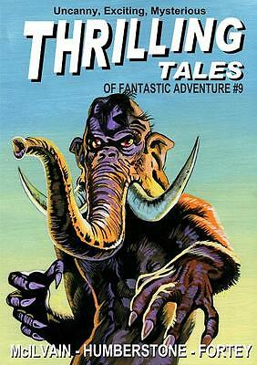 157 THRILLING TALES #9 Rainfall chapbook. Pulp fiction. Action & adventure