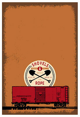 Scrojo Shovels and Rope Belly Up Aspen Colorado 2014 Poster Shovels_1404