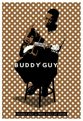 Scrojo Buddy Guy Belly Up Aspen Colorado 2015 Poster Guy_1507