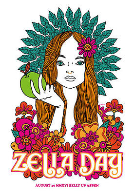 Zella Day at The Belly Up Aspen Poster by Scrojo Zella2_1608