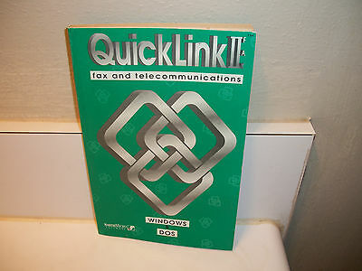 Quicklink 2 Fax And Telecommunications Book 1994 162 Pages