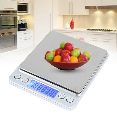 Precision Kitchen Jewelry Electronic Balance Weight Pocket Scale 3000g*0.1g
