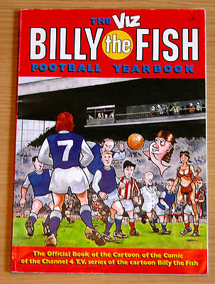 Billy the Fish Football Yearbook 1990 - Very Good Condition