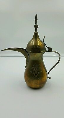 Antique Turkish Engrave Copper coffee put