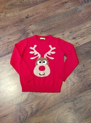 Kids christmas jumper age 9/10 years, red