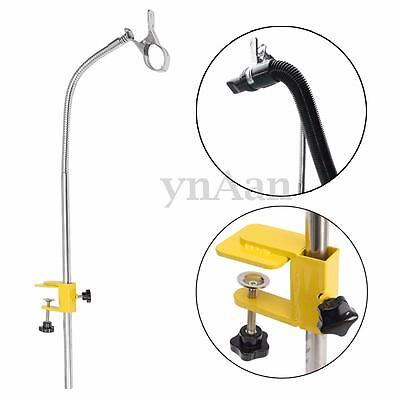 Dog Pet Cat Grooming Table Hair Dryer Clamp Clip Holder Flexible Arm Hose Set