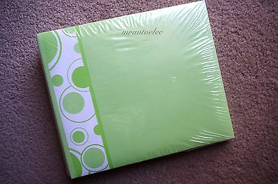 TLC 6x8 Post-bound Expandable Scrapbook Album with Pages - Green