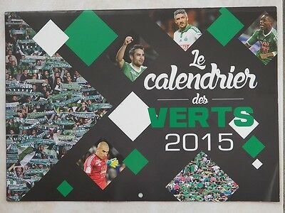 Calendrier ASSE AS Saint-Etienne football 2015