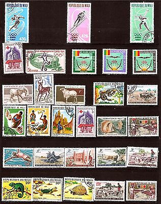 MALI  Sujets divers: reptiles,artisans,scenes champetres,sports 317T5