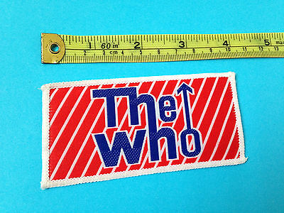The Who unused 80s sew on patch