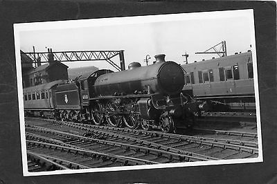 LNER loco No.61160 @ MANCHESTER LONDON RD -Proper R/P-P/C glossy photo