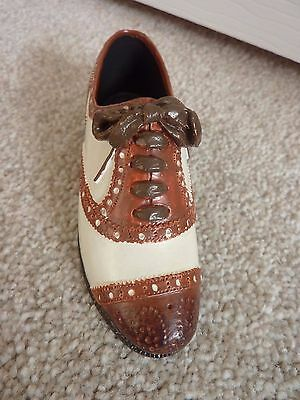 Collectible Miniature Brogue Shoe by 'Shoes of Distinction'