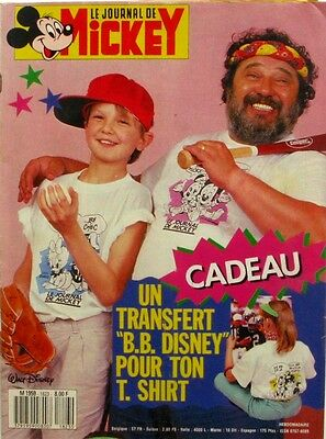 Le journal de Mickey n°1823 du 2 juin 1987 - Transfert B.B Disney -