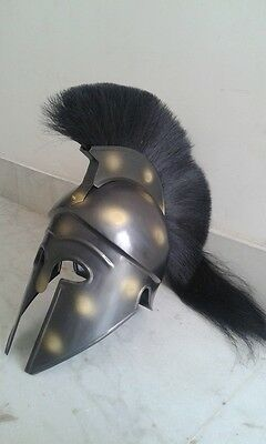 Medieval Greek Corinthian Helmet Crusader Spartan Nautical Reproduction Replica