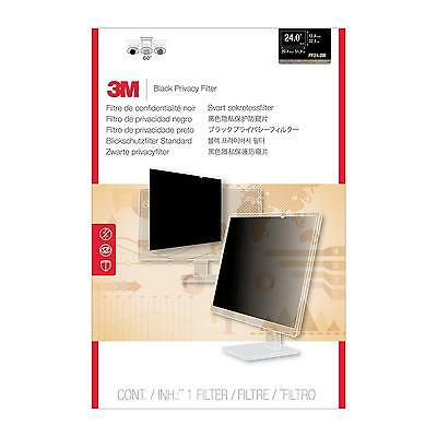"""3M PF24.0W For Widescreen Desktop LCD Monitor 24.0"""" Display Privacy Filter - Fra"""