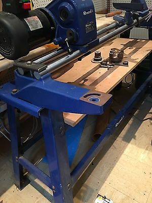 Record CL3 36x30 Wood Turning Lathe With Full Stand And Chucks