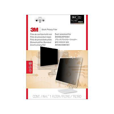"3M PF20.1W For Widescreen Desktop LCD Monitor 20.1"" Display Privacy Filter - Fra"
