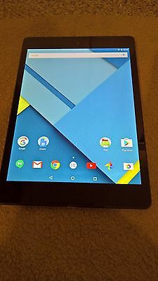 Original  HTC Google Nexus 9 LCD Display Touch screen Assembly In Bezel Frame