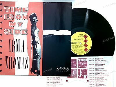 Irma Thomas - Time Is On My Side UK LP 1983 //1